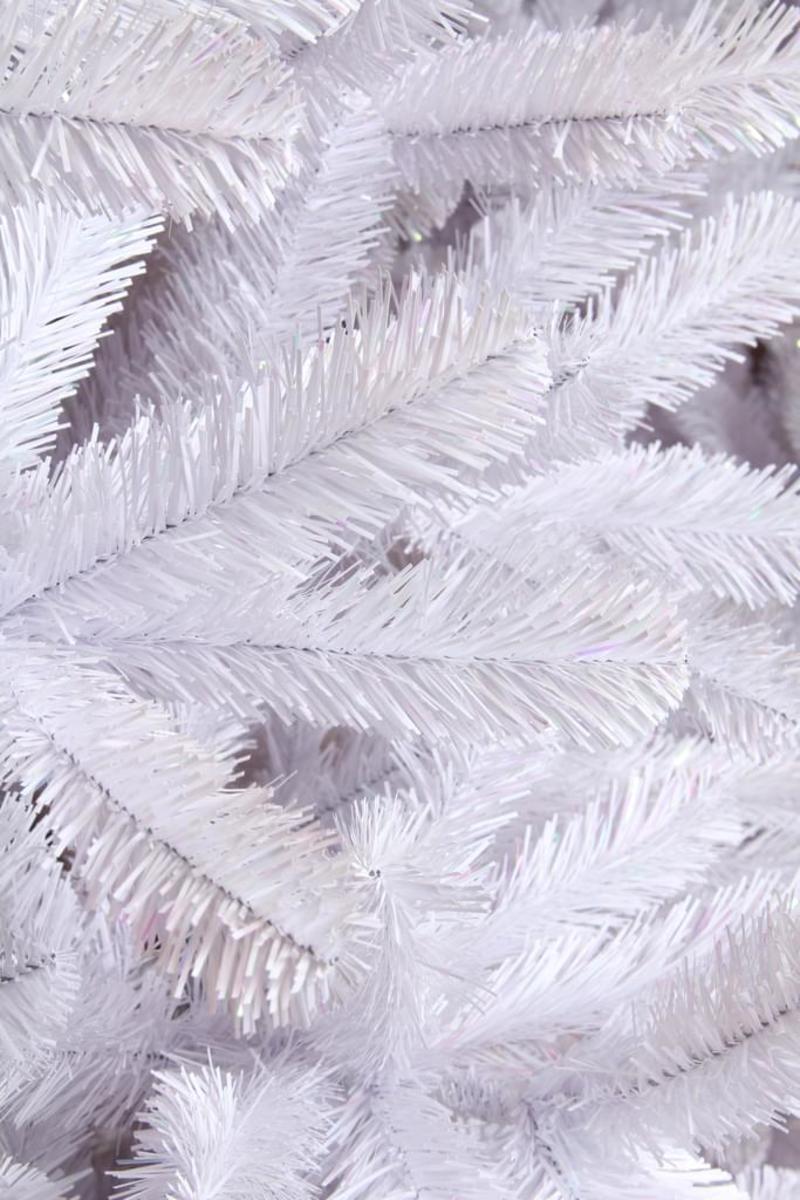 Bild 3 von Icelandic Weihnachtsbaum weiss irisierend TIPS 611 - h185xd119cm