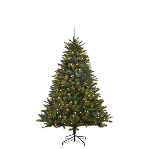 Toronto Weihnachtsbaum led Delux gruen 230L TIPS 858 - h185xd130cm
