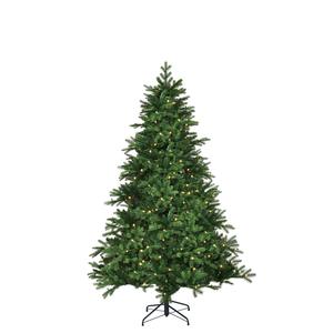 Black Box Trees Brampton Spruce LED künstlicher Weihnachtsbaum 200 LED, 1458 Tips - Farbe: Grün - Höhe: 185 cm - Ø 127 cm; 382776