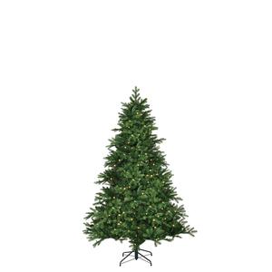 Black Box Trees Brampton künstlicher Weihnachtsbaum LED 100L Tips 684 - Farbe: Grün - Höhe: 120 cm - Ø 91 cm; 1013631