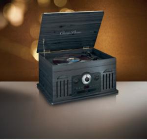 Lenco Retro-Plattenspieler TCD-2600