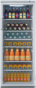 beko Glastür-Umluft-Kühlschrank WSA 29000