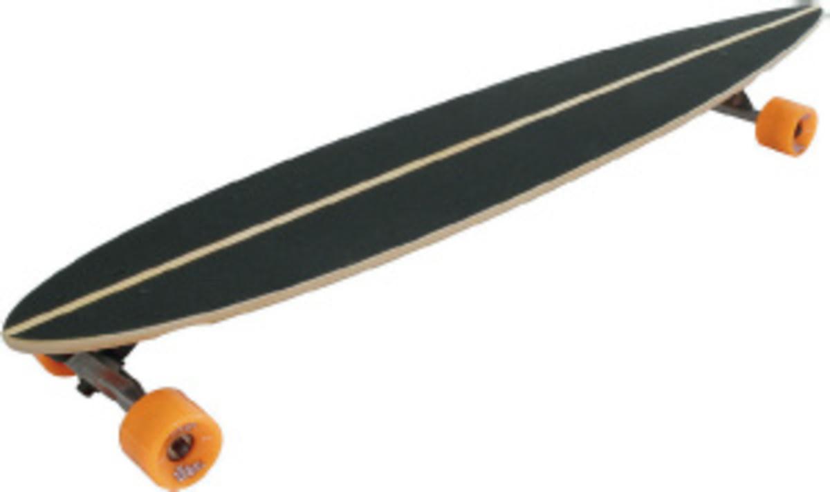 Bild 1 von Longboard SKULL-FLOWER ABEC 7