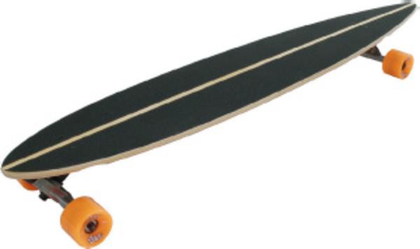 Longboard SKULL-FLOWER ABEC 7
