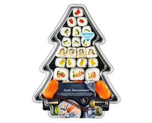 Gourmet  Sushi Tannenbaum