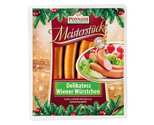 PONNATH® Delikatess Wiener Würstchen
