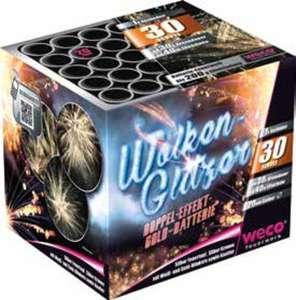 Feuerwerk Batterie Wolkenglitzer
