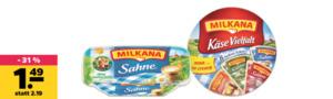 Milkana Runddose oder Frischeschale