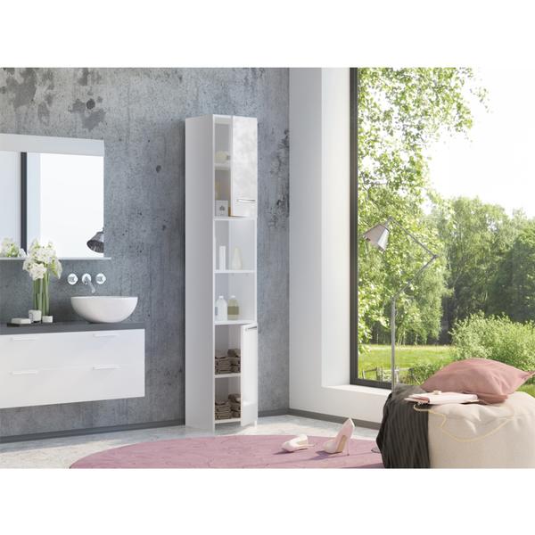 badschrank hochglanz. Black Bedroom Furniture Sets. Home Design Ideas