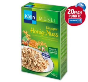 KÖLLN Müsli Knusper Honig-Nuss