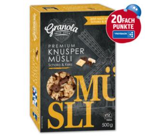 GRANOLA Knusper Müsli Schoko & Keks