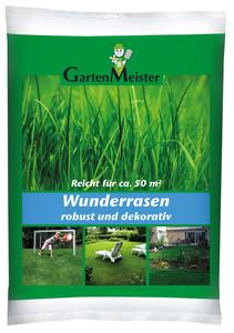 Rasensamen - Wunderrasen, 1 kg, schnell wachsend GartenMeister