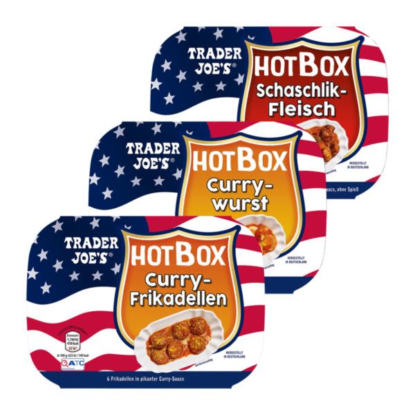 TRADER JOE'S     Hot Box Fertiggericht