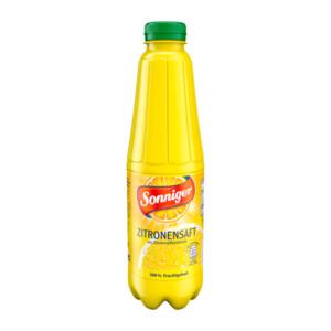 SONNIGER     Zitronensaft