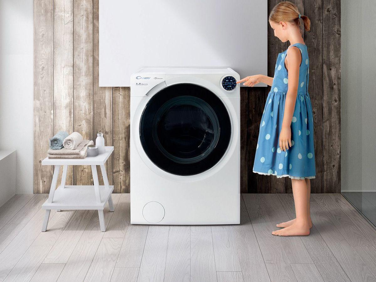 Bild 2 von Candy Waschmaschine BWM 148PH7/1-S Bianca, 8 kg