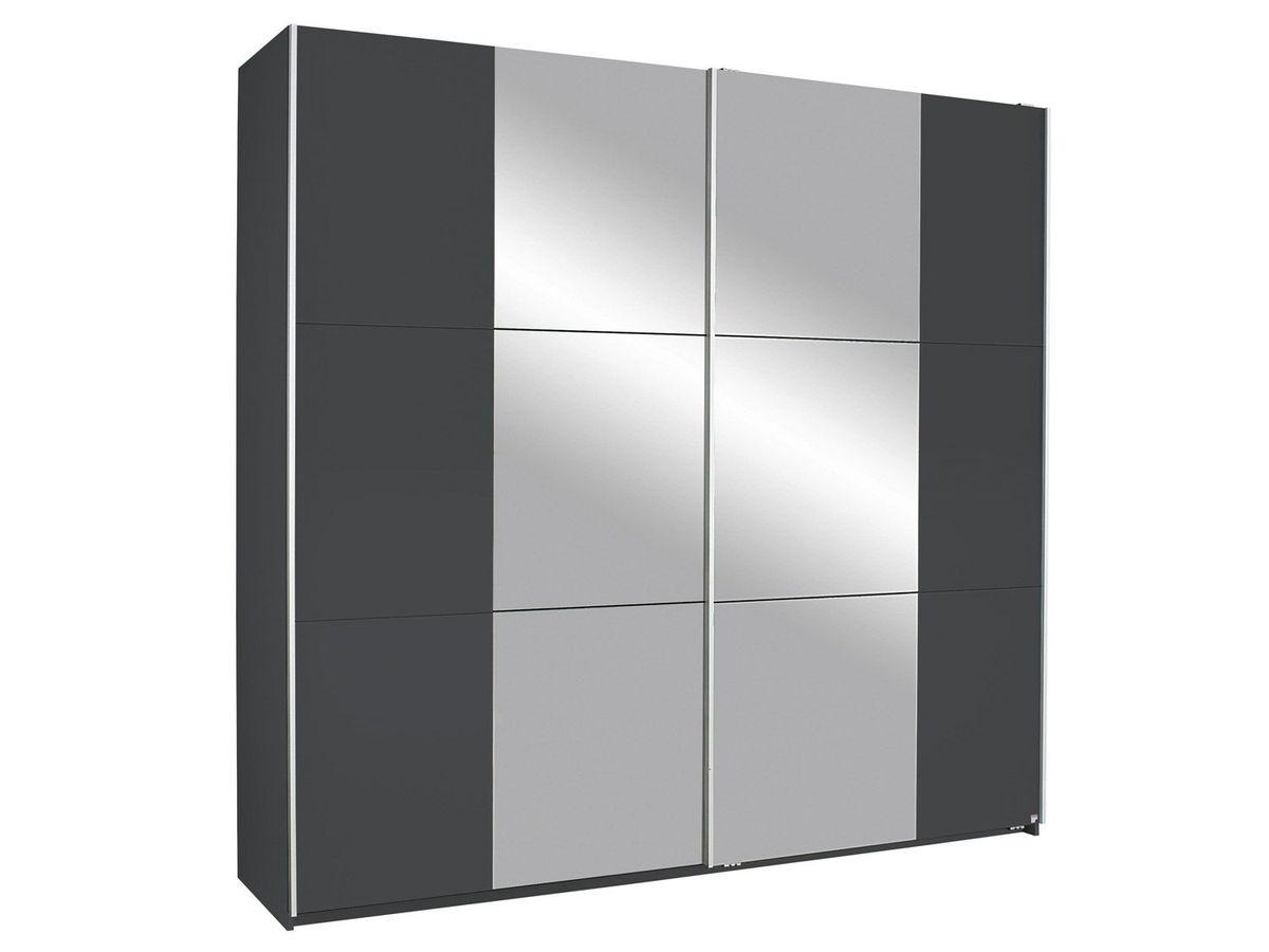Bild 1 von Rauch KRONACH Schwebetürenschrank 2-trg., grau-metallic