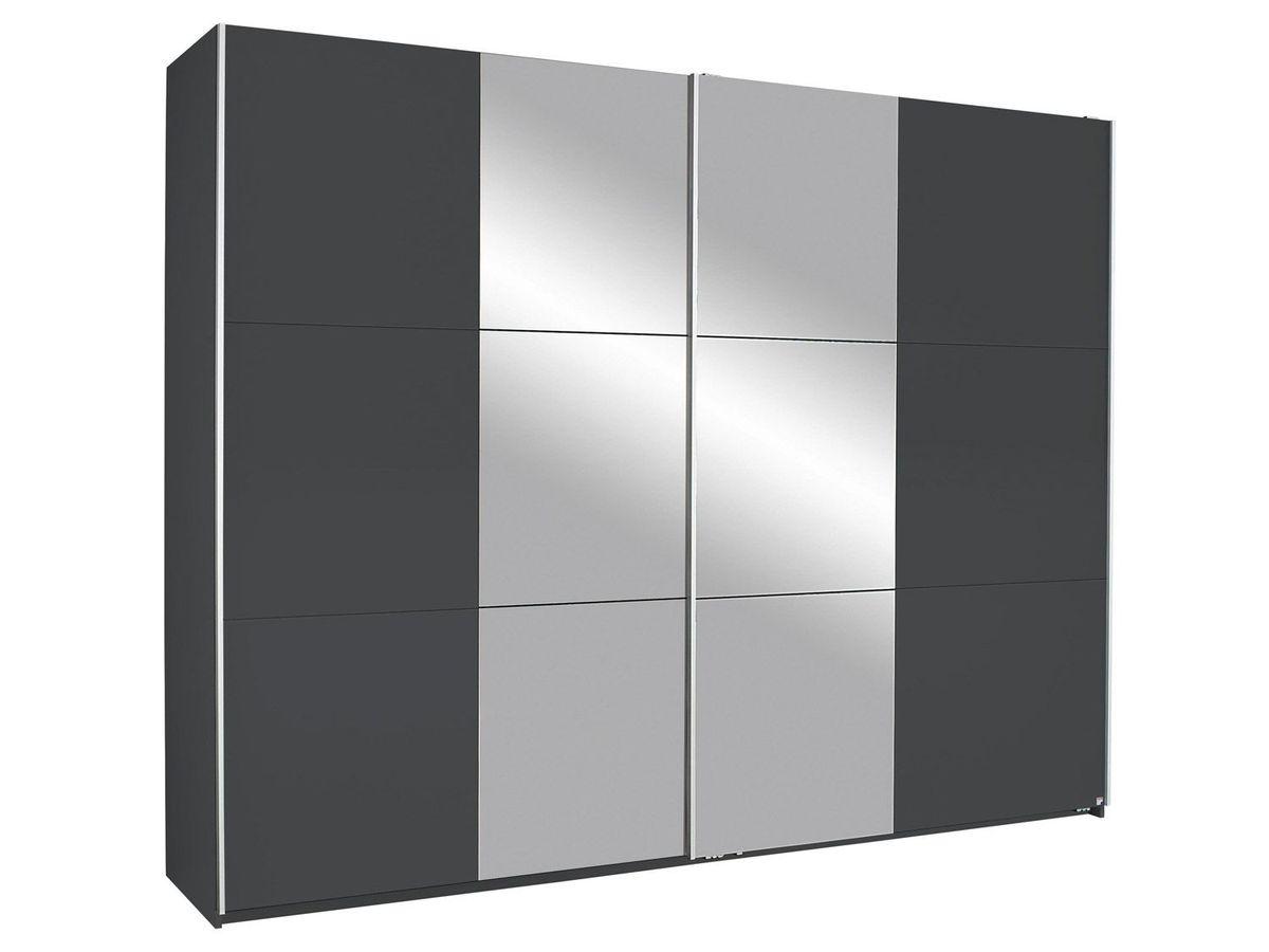 Bild 3 von Rauch KRONACH Schwebetürenschrank 2-trg., grau-metallic