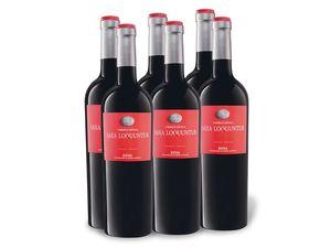 6 x 0,75-l-Flasche Carmelon Ortega Saxa Loquuntur uno Rioja DOC trocken, Rotwein