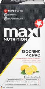 MAXI NUTRITION  Isodrink 4K Pro