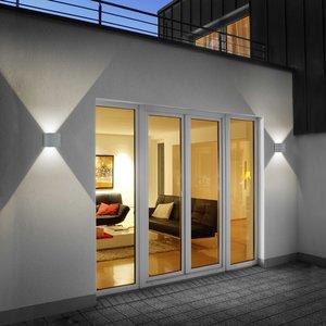 Helestra LED-Außenwandleuchte   Siri