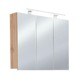vito Spiegelschrank LIOS Wotan Eiche Nachbildung ca. 80 x 78 x 20 cm