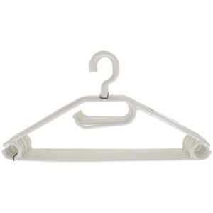 Plast 1 Kleiderbügel