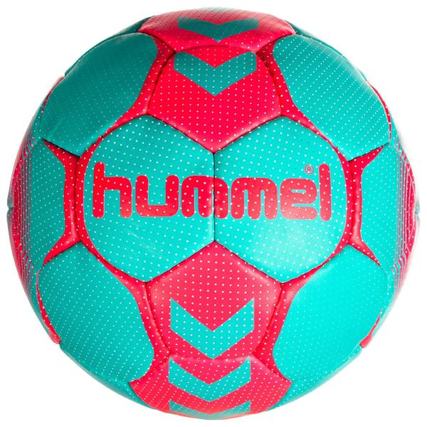 Handball Damen Größe 2 blau/türkis/pink