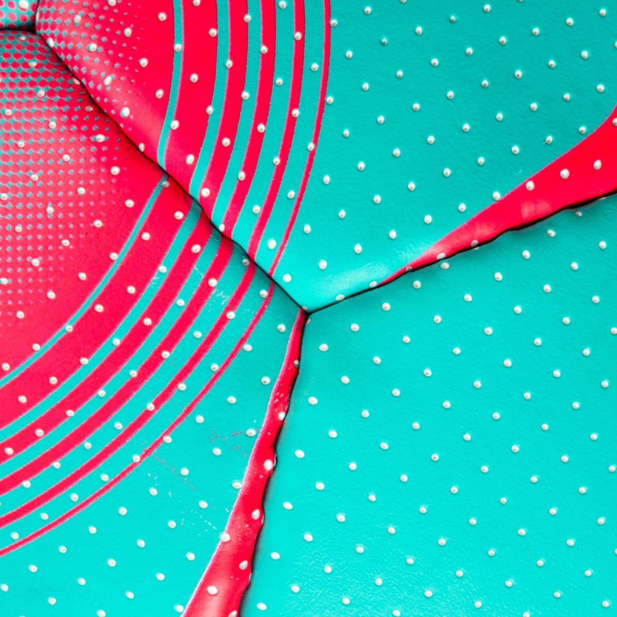 Bild 5 von Handball Damen Größe 2 blau/türkis/pink