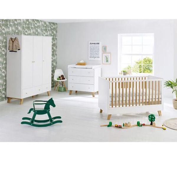 PINOLINO   3-tlg. Babyzimmer Pan breit groß