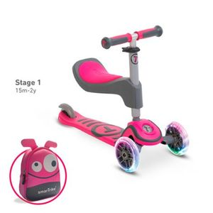 smarTrike   Scooter T1 pink