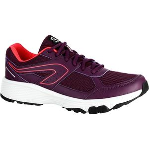 Laufschuhe Run Cushion Grip Damen bordeaux