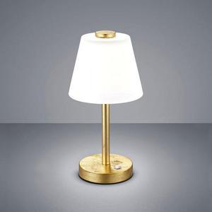 Novel LED-TISCHLEUCHTE, Gold, Weiß