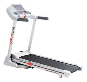 Motive Fitness by U.N.O. Laufband Speed Master 1.8 weiß-silber
