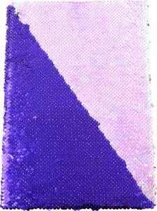 Wendepailletten-Notizbuch A4 rosa/lila