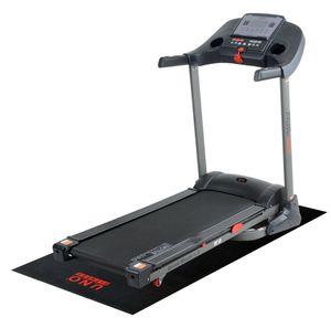 Motive Fitness by U.N.O. Laufband Speed Master 1.8 grau-schwarz inkl.Schutzmatte