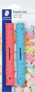 STAEDTLER Lineale 15 cm in Pastelltönen 2 Stück