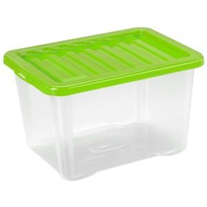 Aufbewahrungsbox 28 Liter in drei Farben mit Klickdeckel