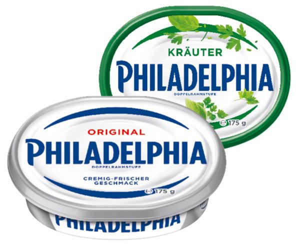 Philadelphia Frischkäse oder Frischkäse- zubereitung