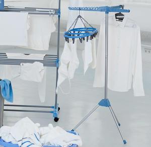 Wäscheständer zum Zusammenklappen, ca. 66x57x130cm