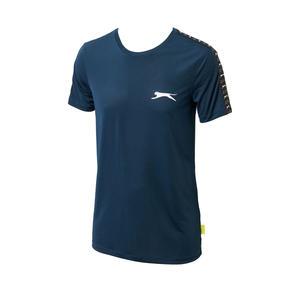 Slazenger Herren-T-Shirt mit Logo auf der Brust