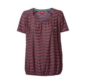 Slazenger Damen-T-Shirt mit Faltenwurf