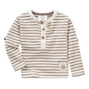 Baby Langarmshirt mit Knopfleiste