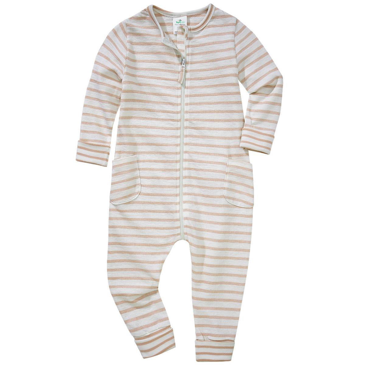 Bild 1 von Baby Schlafanzug im Streifen-Design