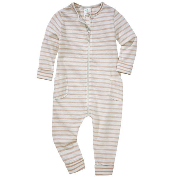 Baby Schlafanzug im Streifen-Design