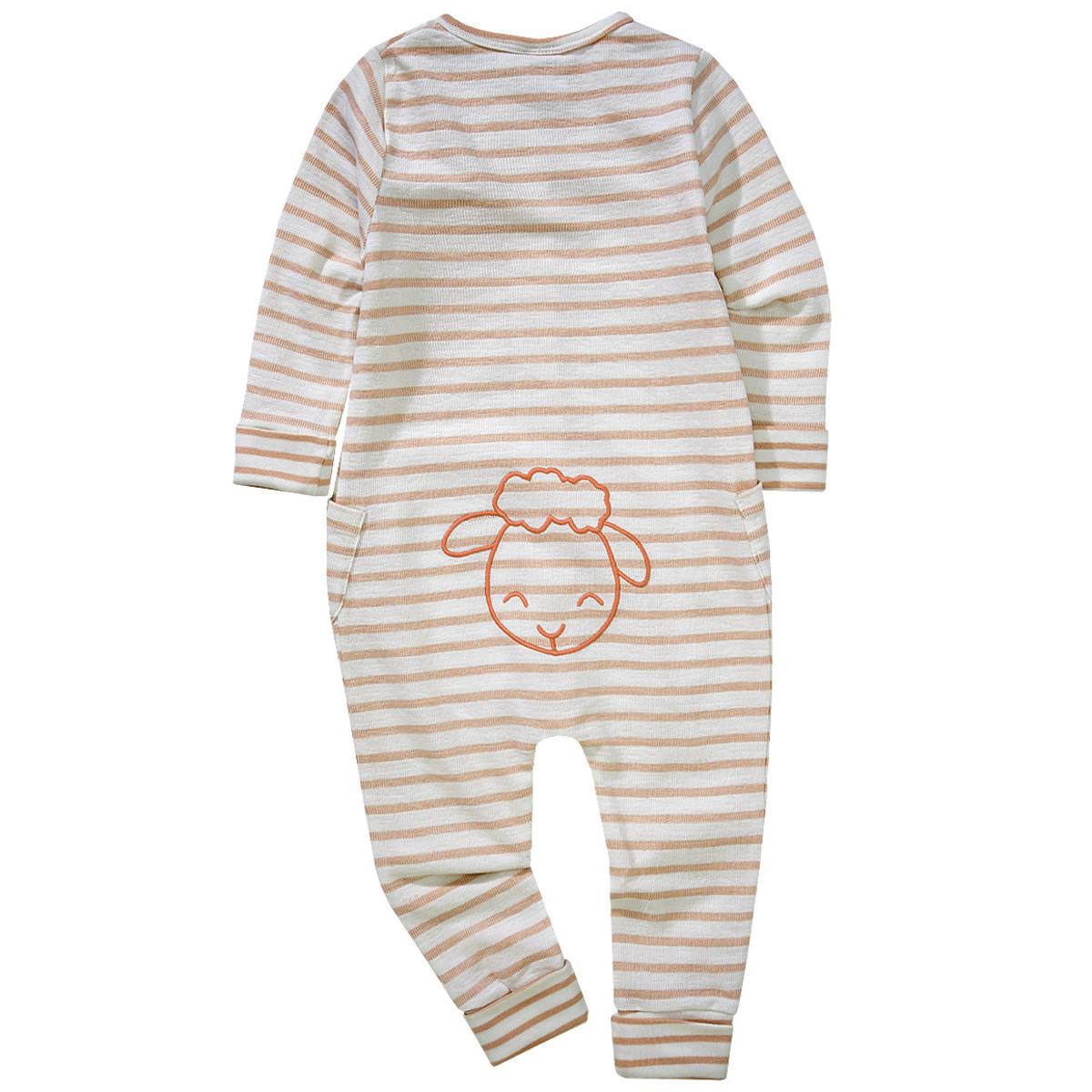 Bild 2 von Baby Schlafanzug im Streifen-Design
