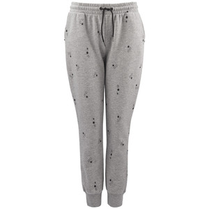 Damen Jogginghose mit Stern-Allover