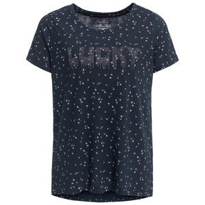 Damen T-Shirt mit Ziersteinchen