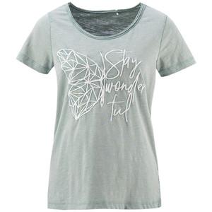 Damen T-Shirt mit Beflockung