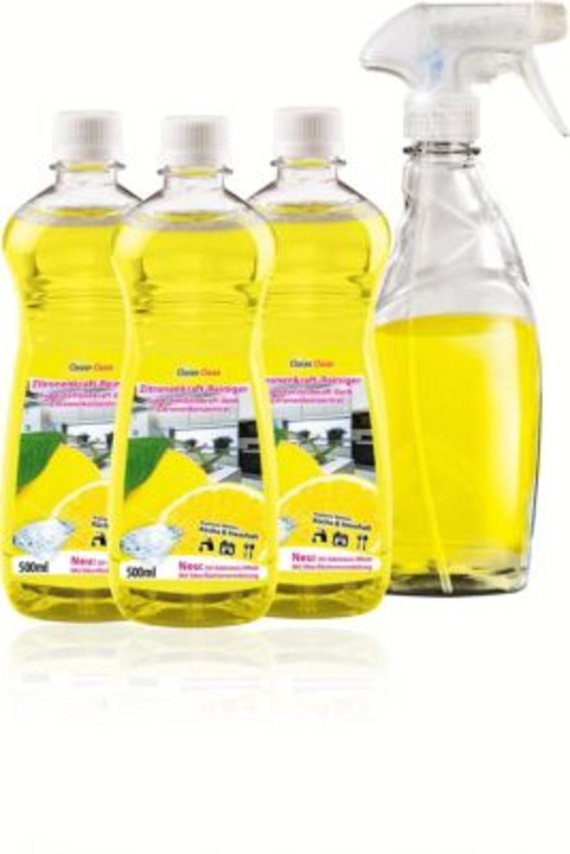 Bild 1 von Clever Clean Zitronenkraftreiniger 5tlg.