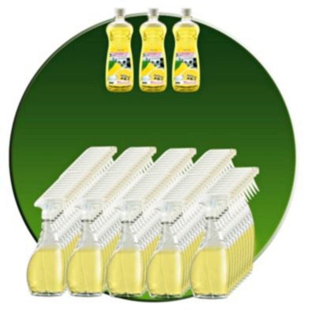 Bild 2 von Clever Clean Zitronenkraftreiniger 5tlg.